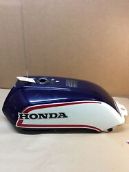 1983 Honda Cb1100f Supersport Oem Blue W White And Red Fuel Tank 175a1-mgs-670za