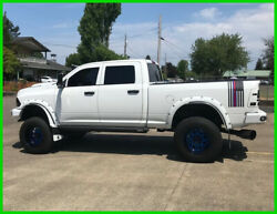 2014 Ram 2500 Tradesman 4WD Quad Cab w Custom Cummins & Dual Exhaust 2014 RAM Tradesman Turbo 6.7L Automatic 4WD Pickup Truck ONLY 62000 Mi Tow Hitch