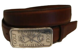 Brighton New Wexford Casual Leather Belt Sizes 34 42 Nwt M21225