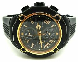 Baume And Mercier Riviera Xxl Ssand18k Chronograph Moa08758 Automatic