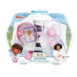 Kids Doc Mcstuffins Playset Dr Pretend Toddler Gift Toy Size 4 To 6 Stethoscope