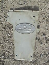 International Farmall 460 Ihc Ih Utility Tractor Front Right Side Panel And Emblem