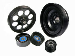Pb-pk8031 Powerbond Power Pully Kit For Holden Commodore Gm Ls Supercharger Driv