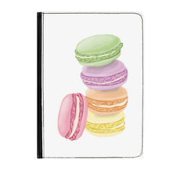 French Macaroons France Cute Universal 9-10.1 Leather Flip Case Cover
