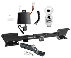 Trailer Tow Hitch For 19-20 Subaru Ascent Complete Package Wiring Kit And 2 Ball