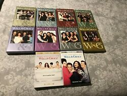 WILL & AND GRACE COMPLETE SERIES-SEASONS 1,2,3,4,5,6,7,8, & THE REVIVAL- DVD-1-8