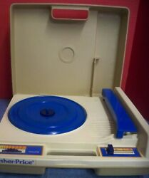 Vintage 1978 Fisher Price Childrens Record Player 33 And 45 Rpm Needs New Needle