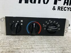 Heater Climate Temperature Control LHD With AC Fits 99-05 WRANGLER 340257