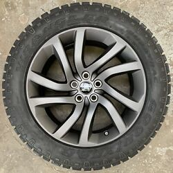 Genuine Land Rover Discovery 5 Style 511 20 Alloy Wheels And Good Year Tyres X4