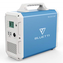 MAXOAK Portable Power Station BLUETTI EB150 1500Wh AC110V/1000W Camping Solar 2