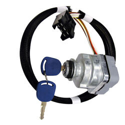 Ignition Key Switch Fits Ford Fits New Holland Tractor Ts Tm Series 81864288 875