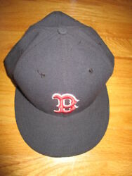 New Era 59 Fifty Authentic Collection Boston Red Sox On-field Size 7 3/8 Cap