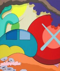 Kaws You Should Know I Know Print In Original Package With Original Recipe