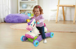 Baby Interactive Learning Unicorn Toy Ride On Toddler Rocking Music Girls Gift