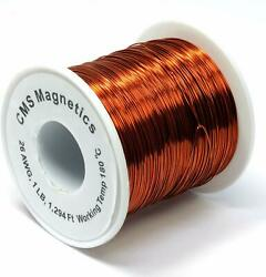 Multi Gauge Magnet Wire Enameled One Lb Spool W/ Working Temperature 356 F