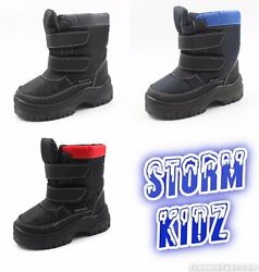 Storm Kidz Cold Weather Kidand039s Snow Boots Lot Of 75 Pairs