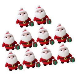 10 Sets Santa Clause Needle Felting Kit with Tools for Adults Kids DIY Gifts