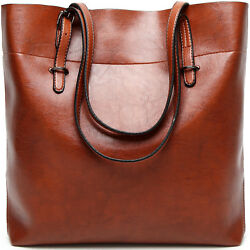 Women Handbag Female Leather Bags Portable Shoulder Bag Ladies Oil Wax Cowhide