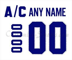 Montreal Canadiens Customized Number Kit For 100th Anniversary White Jersey