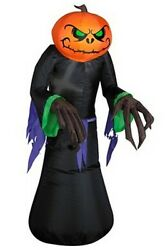 Halloween Inflatable Pumpkin Ghost For Halloween Decoration With Led Light T