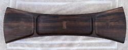 Mid-century Jens H. Quistgaard Bow Tie Palisander Rosewood Tray From Dansk