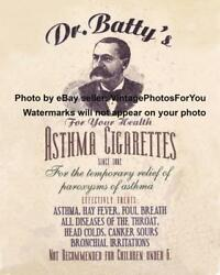 Vintage/old/weird/strange/odd/funny/humorous Asthma Cigarettes Ad Photo/picture