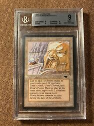 Urza's Mine Mouth, Antiquities, Graded Bgs 9, Mtg, Vintage, Legacy