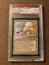 Urza's Mine Mouth, Antiquities, Graded Psa 9, Mtg, Vintage, Legacy