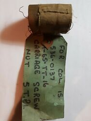 Colchester Lathe Parts Carriage Screw For 15