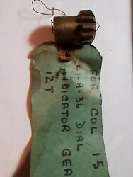 Colchester Lathe Parts Dial Indicator Gear For 15