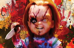 63086 Chucky Childs Play Decor Wall Print Poster