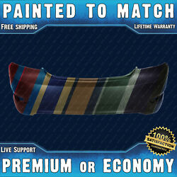 New Painted To Match Rear Bumper Replacement For 2012-2017 Hyundai Accent Sedan