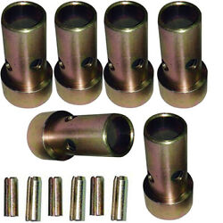 3 Fits Category Ii Quick Hitch Bushings And Roll Pins Kits - Fits Cat 2