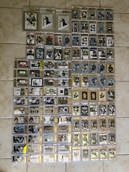 2005-06 + SIDNEY CROSBY HUGE LOT AUTO PATCH JERSEY STICK PUCK BGS 109.5(653CARD