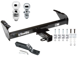 Trailer Tow Hitch For 63-91 Chevy C Series Pickup Ford F-100 W/ 1-7/8 And 2 Ball