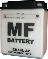 Battery Conventional For 1982 Honda Gl 500 Ib-c Silver Wing No Acid