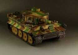 1/30 Ww2 German Tiger Early Production Tri-color Camouflage Version G059