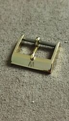 Wonder Watch Rare Vintage Gold Plated Buckle 16 Mm Like New Condition