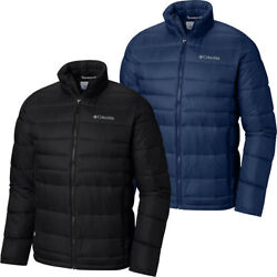 150 New Mens Columbia New Discovery Water Resistant Insulated Puffer Jacket