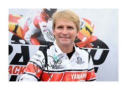 Wayne Rainey 1 A4 Reproduction Autograph Picture Poster Choice Of Frame