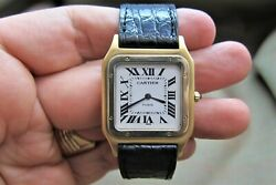 Cartier Santos Dumont Ultra Thin  Paris  Rare