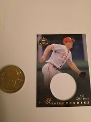 Scott Rolen Pinnacle Mint Collection Minted Rookies Card And Coin
