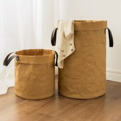 Foldable Laundry Basket for Dirty Clothes Toys Baskets Bag Organizer Kids H F6P4