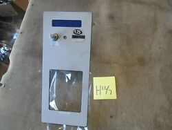 Used Coin Slot./return Face Royal Vending Rvv-500 Glass Front Soda Machine B