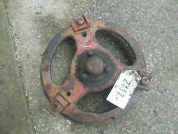 Early Farmall C Tractor Ih Front Ih Hub W/ 3 Buckles And 3 Bolts And Cover Cap