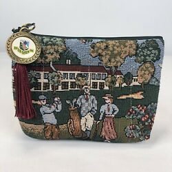 Womens Golf Themed Clutch Coin Purse w 1996 US Open Keychain Attached To Zipper $18.99