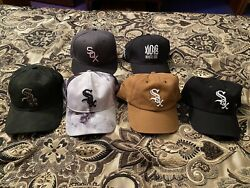 Lot of Chicago White Sox Adjustable Hats