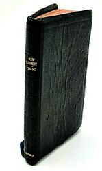 Vintage Pocket Bible New Testament And Psalms - Oxford - Persian Morocco Leather