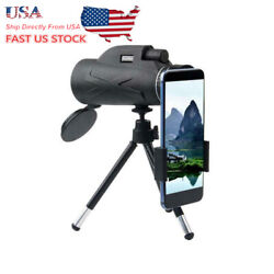 Us Bak4 Hd 80x100 Zoom Portable Prism Monocular Telescope + Tripod Outdoor Sport
