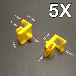 5x Trim Clips For Side Skirts Sills Rocker Retainer For Bmw